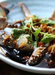 最生猛的海鲜吃法--酱螃蟹
