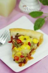 酸豆角火腿芝心披萨