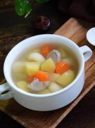 苹果马蹄猪腱子汤
