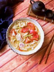 养胃番茄汤面