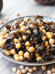 木耳鹰嘴豆