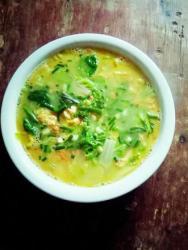 鸡蛋水白菜汤