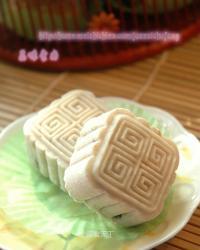 健康月饼——香芋枣泥糕