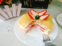 千层蛋糕的做法-安佳Anchor