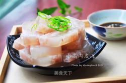 【改变】天然胶原蛋白之水晶肉皮冻
