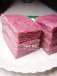 紫薯千层饼