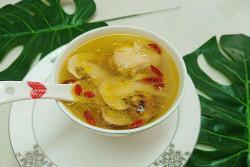 鲜松茸母鸡汤-详细步骤-蜜桃爱营养师私厨