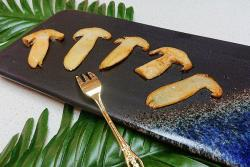 黄油煎新鲜松茸-蜜桃爱营养师私厨