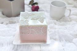 【蝶之恋】巧克力果酱慕斯蛋糕#挚爱烘焙,你就是MOF#