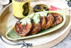 夏日凉菜-黄梅酱素鸡