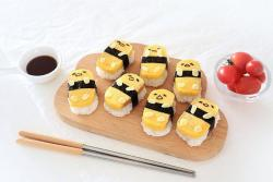 萌萌补钙寿司:懒蛋蛋玉子寿司
