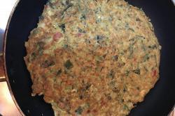 红薯叶鸡蛋煎饼