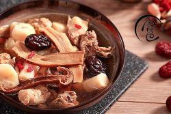 「回家菜谱」——松茸菌炖柴鸡