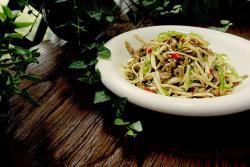 水豆豉茭白炒肉丝