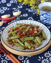缅甸新葡京干煸四季豆
