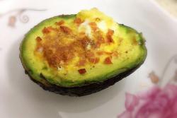 牛油果烤蛋