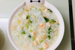 bb粥虾仁蔬菜粥