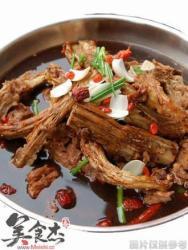 小火锅羊肉