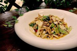 水豆豉大葱炒肉丝