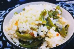 四季豆箜干饭