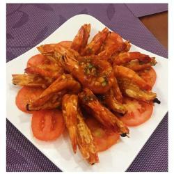茄汁烧大虾