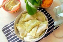 芹菜莲藕水饺