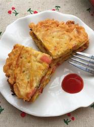红薯火腿鸡蛋煎饼