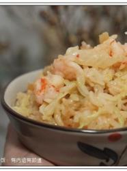 鲜虾干贝炒饭