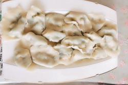 三鲜虾仁水饺