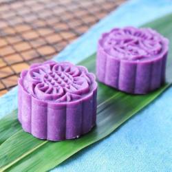 低脂健康 紫薯月饼