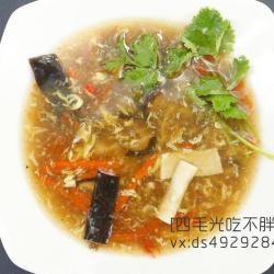 鲨鱼皮酸辣汤