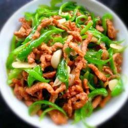青椒肉丝--快手菜