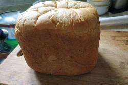 全麦葡萄干面包(面包机)