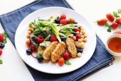 鸡肉沙拉-丘比沙拉汁青梅口味