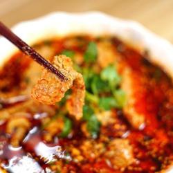 开胃菜*薄荷水煮牛肉