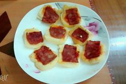 培根番茄面包片
