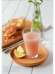 粉色诱惑--柠檬石榴汁