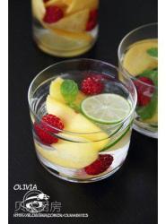 【发现水的味道Ⅱ】——【树莓黄桃蜜醋饮】