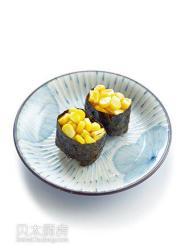 甜玉米寿司