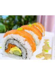 藤崎寿司----三文鱼反转寿司,绿色美味更实惠