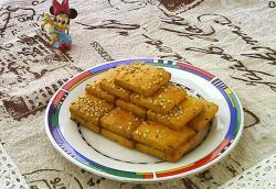 咖喱苏打饼干#亮出哩的厨艺#