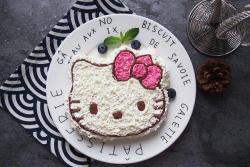HelloKitty奶油蛋糕