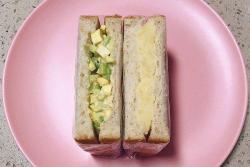 牛油果土豆泥cheese三明治