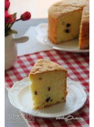 无油版蔓越莓海绵蛋糕