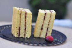 果酱三明治蛋糕