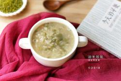 """一周早餐好粥到之绿豆燕麦粥#在""""家""""打造ins风美食#"""