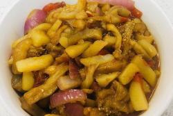 土豆烧茄子少油版(下饭神器)
