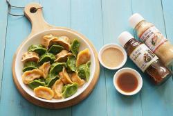 彩色饺子-丘比沙拉汁