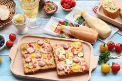 吐司披萨&法棍-丘比面包酱