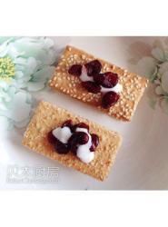 美国蔓越莓早餐饼干